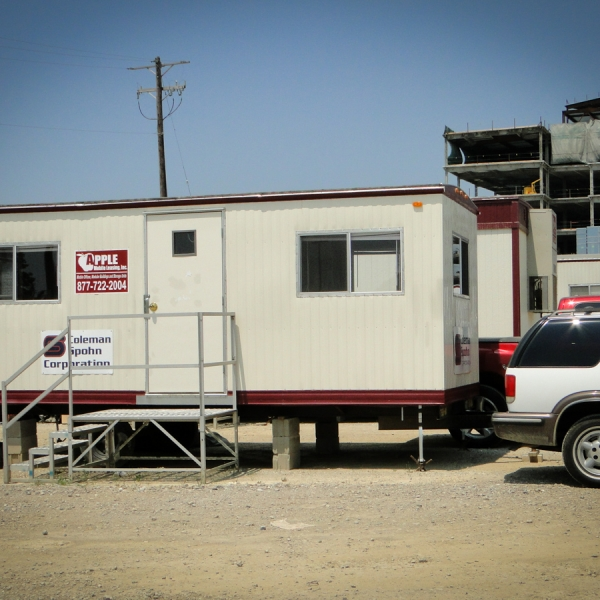 construction office trailer, mobile office trailer